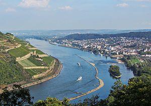 Rhine knee - Bingen Hole