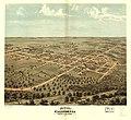 Bird's eye view of California, Moniteau Co., Missouri 1869. LOC 73693471.jpg