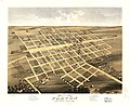 Bird's eye view of the city of Paxton, Ford County, Illinois 1869. LOC 73693367.jpg