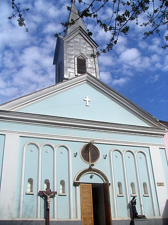 Bulgarians in Romania - Image: Biserica Cioplea Bucuresti