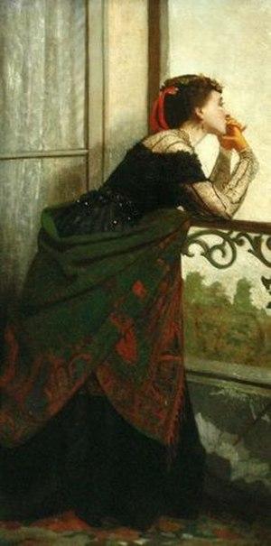Kate Bisschop-Swift - Image: Bisschop Swift Balcony