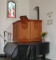 Blaagaards Kirke Copenhagen pulpit.jpg