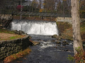 Blairstown, New Jersey - Image: Blairstown Lake and Dam