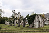 Blanchefosse-et-Bay (08 Ardennes) - l'Abbaye de Bonne Fontaine - Photo Francis Neuvens.JPG