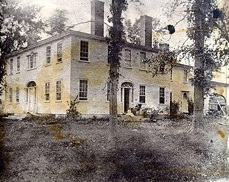Parsonsfield, Maine - Image: Blazo Leavitt House Parsonsfield Maine