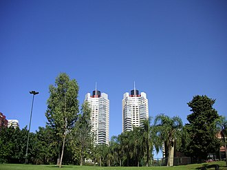 Barrio Norte, Buenos Aires - Las Heras Park, the densely populated neighborhood's principal green space.