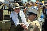 Bob Hoover and vet at Oshkosh 2011.jpg