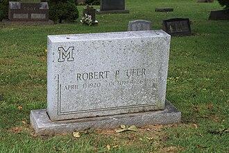 Bob Ufer - Ufer grave