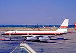 Boeing 707-138B G-AVZZ Laker LGW 21.06.70.jpg
