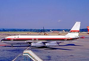 Laker Airways - Boeing 707-138B in 1970