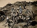 Boer War; British soldiers tending the wounded Boers after a Wellcome V0015545.jpg