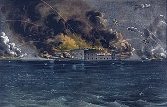 Origins of the American Civil War - The Battle of Fort Sumter was a Confederate attack on a U.S. fort in South Carolina in April 1861. It was the opening battle of the war.