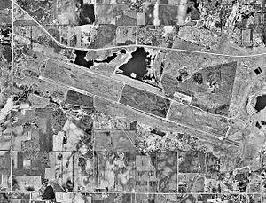 R.I. Bong Air Force Base - Remains of Bong AFB, 14 April 2000