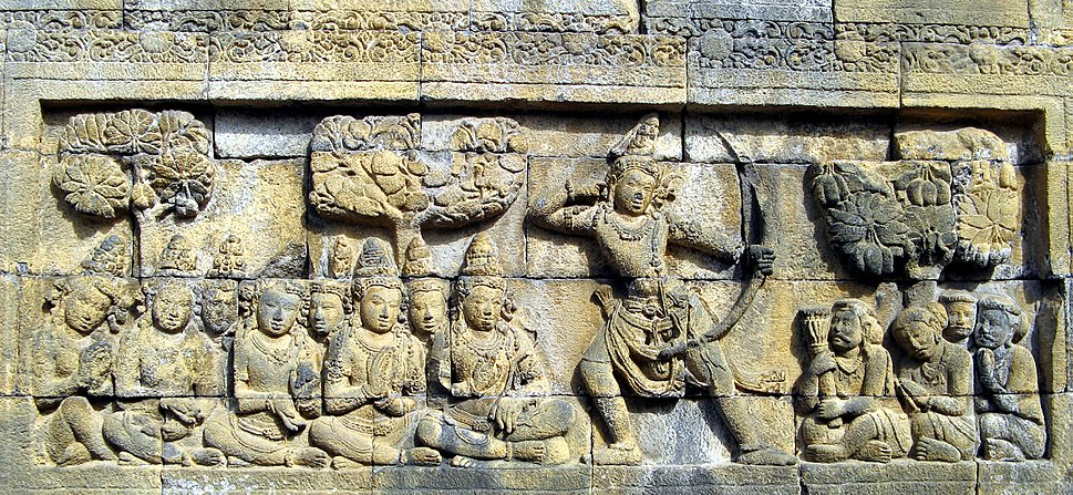 Borobudur Relief Panel I.b119, 0972