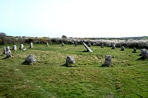 Boscawen-Un - The stone circle in 2011