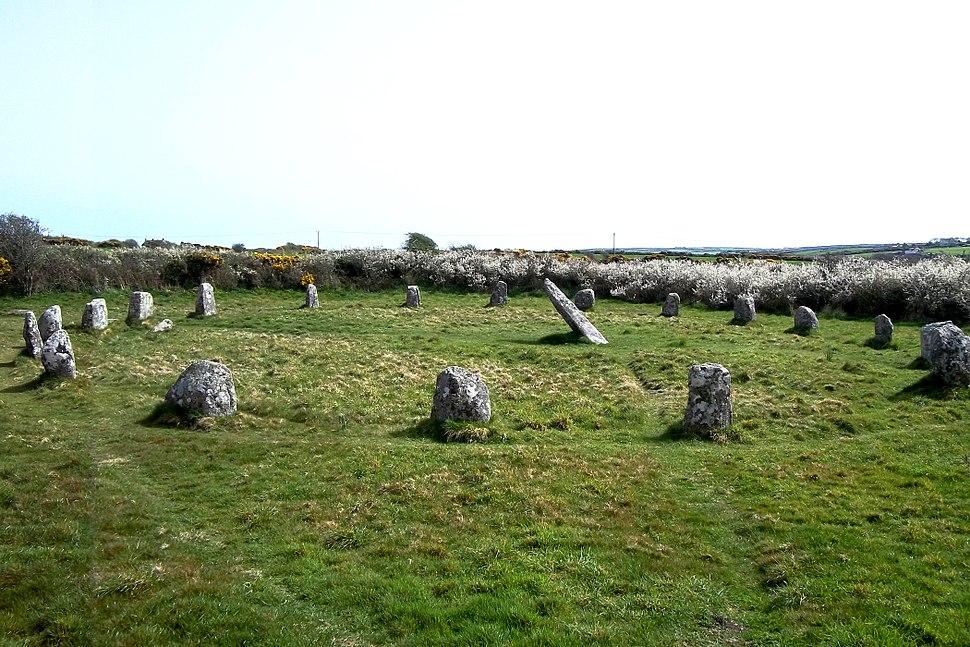 Boscawen-Un stone circle 2011
