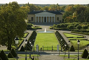 Uppsala - The Botanical Garden at Uppsala Castle.