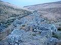 Boulders beside the Afon Giedd - geograph.org.uk - 1101027.jpg