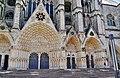 Bourges Cathédrale Saint-Étienne Fassade Portale 4.jpg