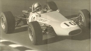 1969 Australian Drivers' Championship - Glyn Scott placed ninth driving a Bowin P3 Ford Cosworth FVA