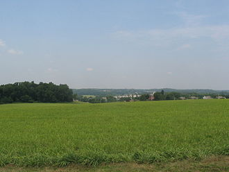 Battle of Brandywine - Image: Brandywine Field Today