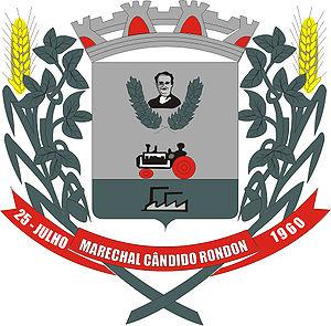 Marechal Cândido Rondon - Image: Brasao MCR
