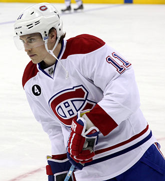 Brendan Gallagher - Gallagher with the Montreal Canadiens in January 2015