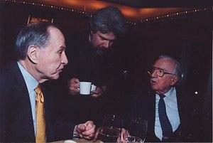 Brian Keane - Brian Keane with Walter Cronkite and Jim Mckay 2003