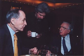 Brian Keane - Brian Keane with Walter Cronkite and Jim Mckay 2003