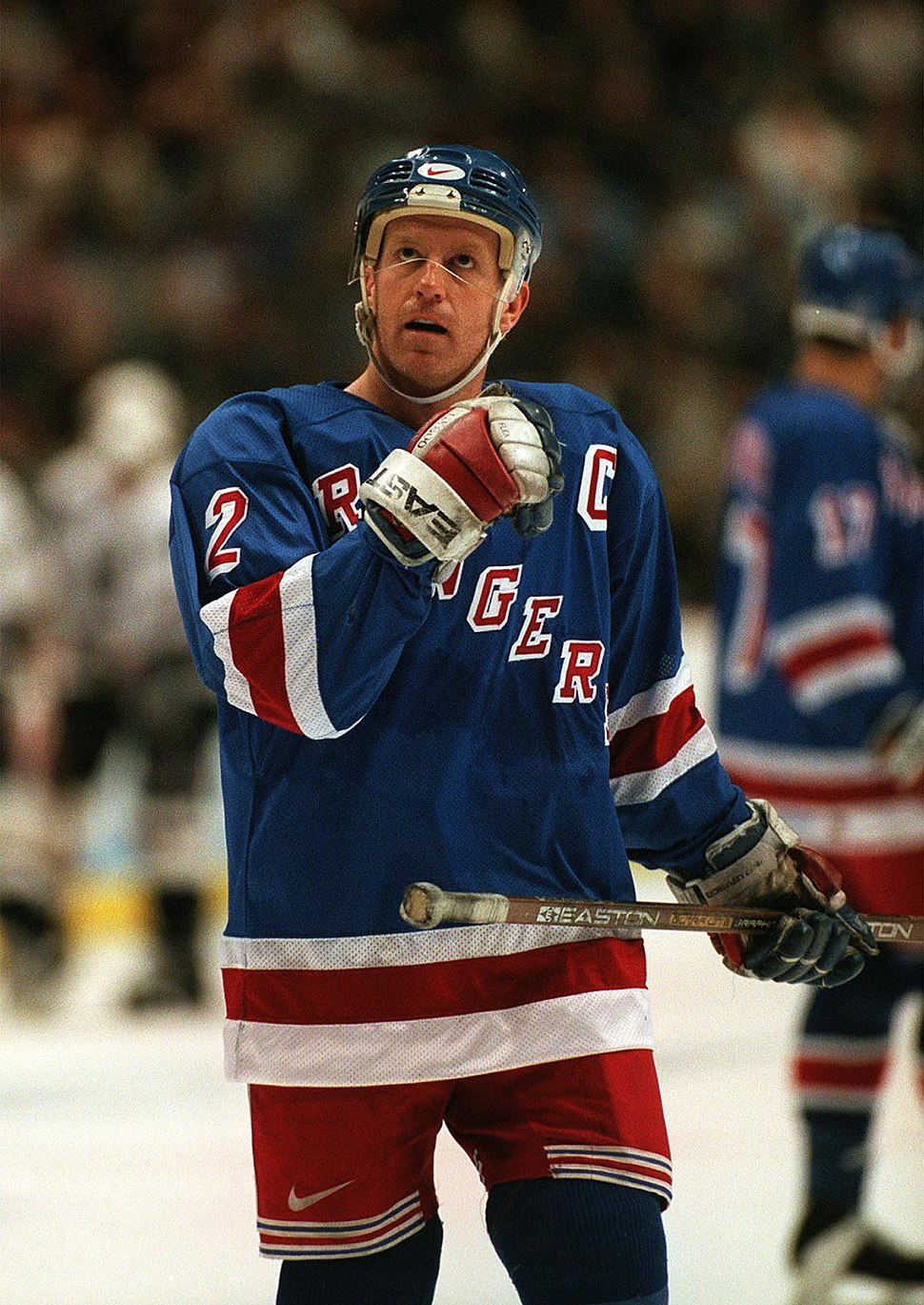 Brian Leetch New York Rangers 1997 Vancouver