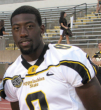 Brian Quick - Quick with Appalachian State in 2011