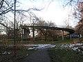 Bridge over A38, Derby - geograph.org.uk - 1656804.jpg
