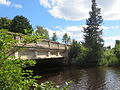 Bridge over the West Branch of the Escanaba River, Wells Township, Marquette County, Michigan.JPG