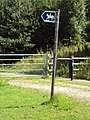 Bridleway sign, Green Lane West 2.JPG