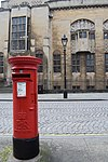 Bristol. Deanery Rd. Post box and Central Library.jpg