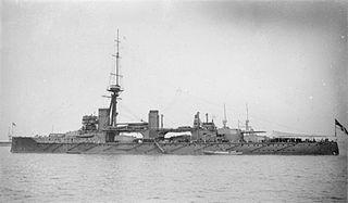 1911 Colossus-class battleship of the United Kingdom