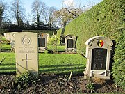 British and Belgian graves in Botley Cemetery - geograph.org.uk - 1634780