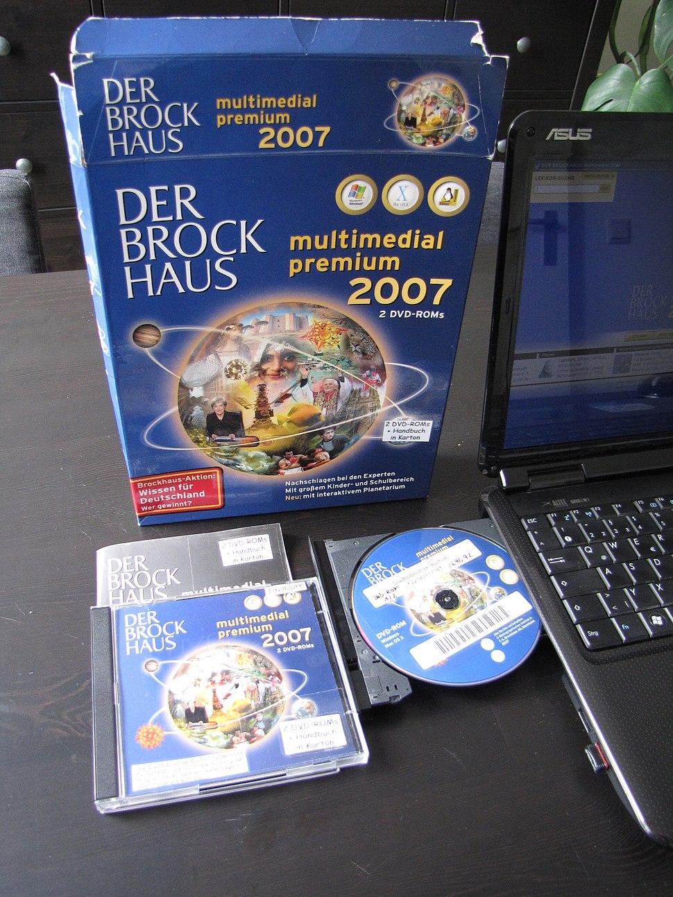 Brockhaus 2007 dvd