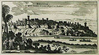 "Bharuch - ""Brotsch"", by Peeters Jacob, 1690"
