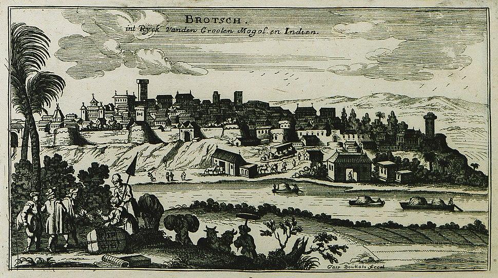 Brotsch int ryck vanden Grooten Mogol en Indien - Peeters Jacob - 1690