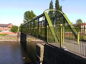 Broughton Suspension Bridge - The replacement bridge today
