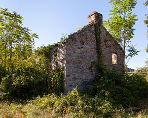 Penn Township, Huntingdon County, Pennsylvania - Ruins of the Brumbaugh Homestead, a historic site in the township