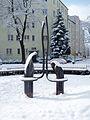 Brunnenskulptur von Achim Kühn Arndtplatz Berlin Adlershof-by-Leila-Paul.jpg