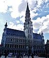 Bruxelles Grand-Place Hôtel de Ville 03.jpg