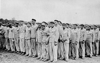 Buchenwald concentration camp - Roll call at Buchenwald