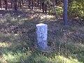 Buchholz (Beelitz), Preußischer Rundsockelstein (1).jpg