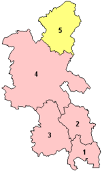 Milton Keynes within Buckinghamshire