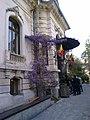Bucuresti, Romania. Gradina VERONA. Spatele Librariei Carturesti. Aprilie 2019.jpg