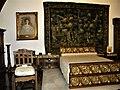 Bucuresti, Romania. MUZEUL NATIONAL COTROCENI. (Dormitorul argintiu) (Queen Mary's Bedroom (B-II-a-A-19152).jpg