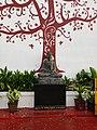 Buddha Statue at Puducherry Beach.jpg
